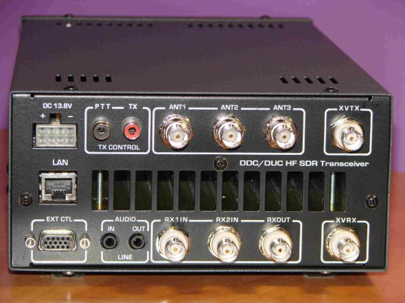 Задняя панель DUCSI-100